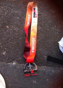 medaille marion aix en provence half 2014