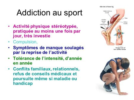 Addiction+au+sport+Activité+physique+stéréotypée,+pratiquée+au+moins+une+fois+par+jour,+très+investie.